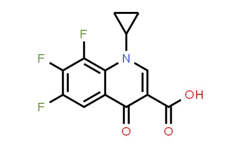 1-环丙基-6,7,8-三氟-4-氧代-1,4-二氢喹啉-3-羧酸