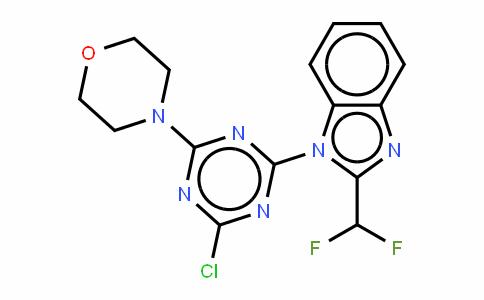 1H-Benzimidazole,1-[4-chloro-6-(4-morpholinyl)-1,3,5-triazin-2-yl]-