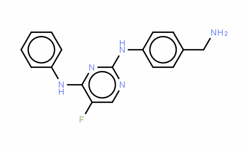 N2-[4-(Aminomethyl)phenyl]-5-fluoro-N4-phenylpyrimidine-2,4-diamine/