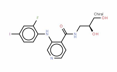 N-[(2S)-2,3-二羟基丙基]-3-[(2-氟-4-碘苯基)氨基]-4-吡啶甲酰胺