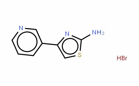 4-(3-pyridinyl)-2-Thiazolamine hydrobromide (1:1)/