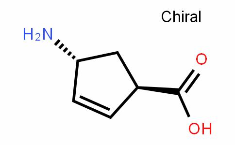 (1R,4R)-4-aminocyclopent-2-enecarboxylic acid/