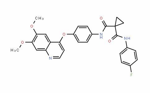 Cabozantinib/XL184