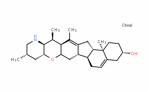 Cyclopamine/11-deoxojervine