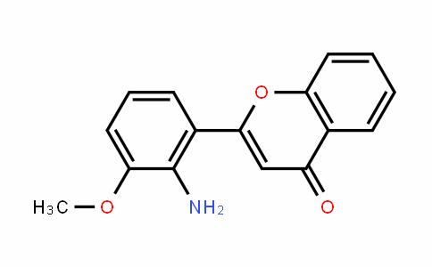 2-(2-氨基-3-甲氧苯基)色酮