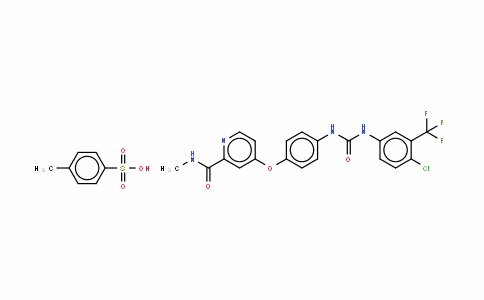 Sorafenib Tosylate(Bay 43-9006)/