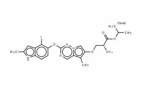 Brivanib alaninate/BMS-582664/
