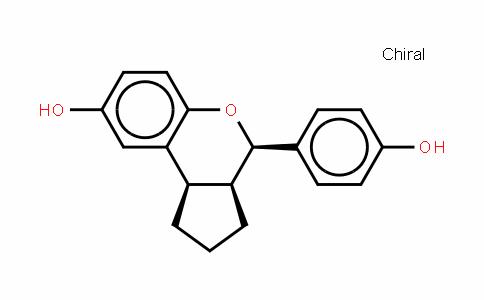 (3AS,4R,9BR)-1,2,3,3A,4,9B-六氢-4-(4-羟基苯基)环戊并[C][1]苯并吡喃-8-醇