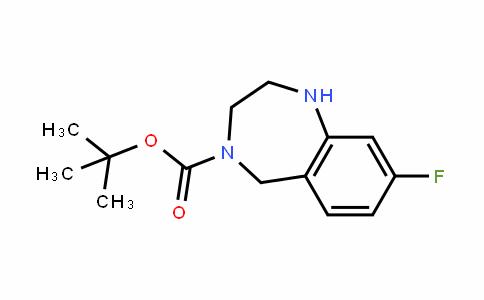 4-Boc-8-Fluoro-2,3,4,5-tetrahydro-1H-benzo[e][1,4]diazepine