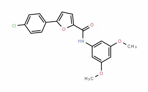 5-(4-氯苯基)-N-(3,5-二甲氧基苯基)-2-呋喃甲酰胺
