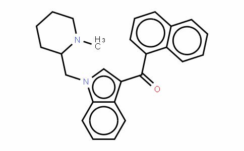 (1-((1-甲基哌啶-2-基)甲基)-1H-吲哚-3-基)(萘-1-基)甲酮