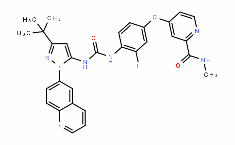 N-[2,5-二氟-4-[[2-(1-甲基-1H-吡唑-4-基)-4-吡啶基]氧基]苯基]-N'-苯基-1,1-环丙烷二甲酰胺