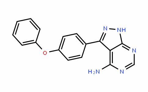 3-(4-Phenoxyphenyl)-1H-pyrazolo[3,4-d]pyrimidin-4-amine