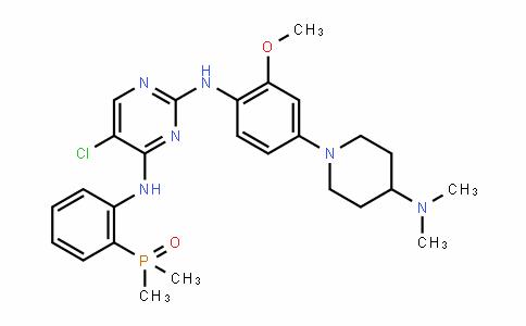 5-氯-N2-[4-[4-(二甲基氨基)-1-哌啶基]-2-甲氧基苯基]-N4-[2-(二甲基亚膦酰)苯基]-2,4-嘧啶二胺