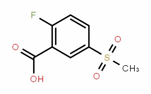 2-fluoro-5-(methylsulfonyl)benzoic acid