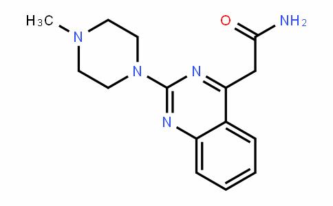 2-(2-(4甲基哌嗪基)喹唑啉-4-基)酰胺
