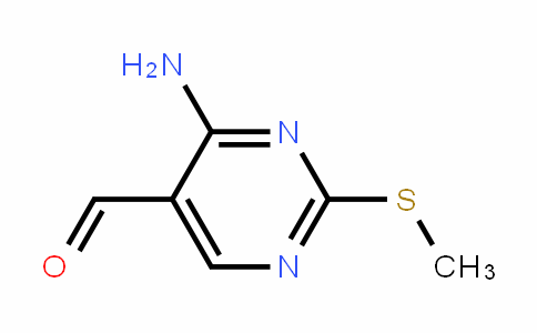 4-amino-2-(methylthio)pyrimidine-5-carbaldehyde