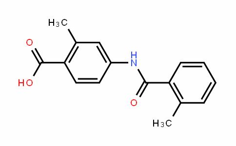 2-Methyl-4-(2-methyl-benzoylamino)benzoic acid