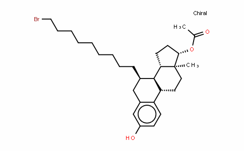 (7a,17b)-7-(9-BroMononyl)-estra-1,3,5(10)-triene-3,17-diol17-acetate