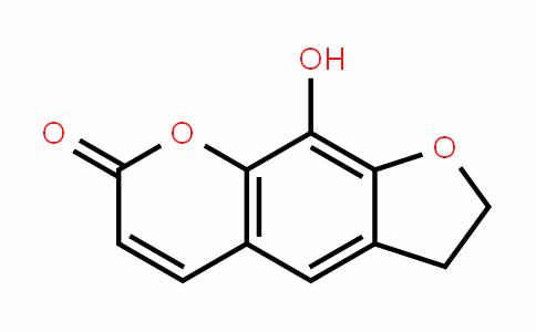 2,3-Dihydro-9-hydroxy-7H-furo[3,2-g][1]benzopyran-7-one