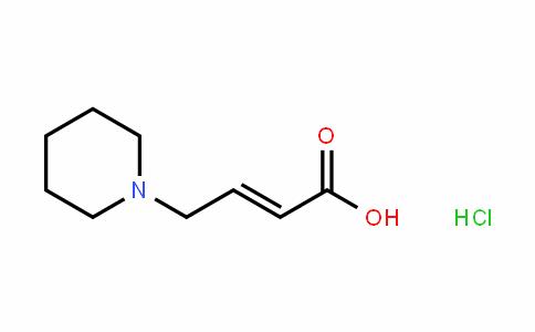 2-Butenoicacid,4-(1-piperidinyl)-,(2E)-(9CI)
