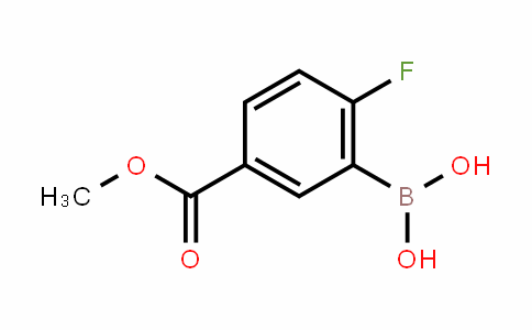 2-Fluoro-5-(Methoxycarbonyl)phenylboronic acid