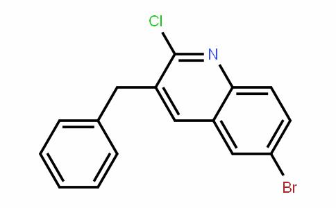 3-苄基-6-溴-2-氯喹啉