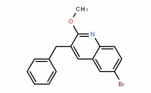 3-苄基-6-溴-2-甲氧基喹啉