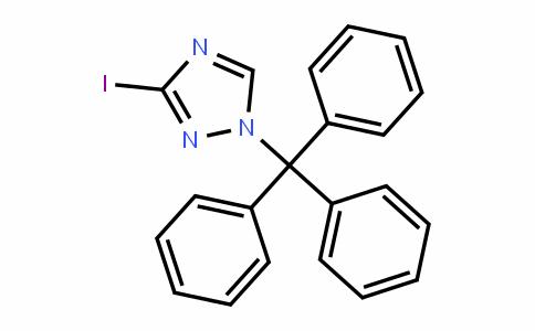 3-iodo-1-trityl-1H-1,2,4-triazole