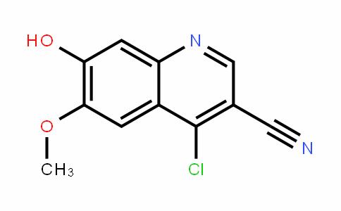 4-Chloro-3-cyano-7-hydroxy-6-Methoxyquinoline