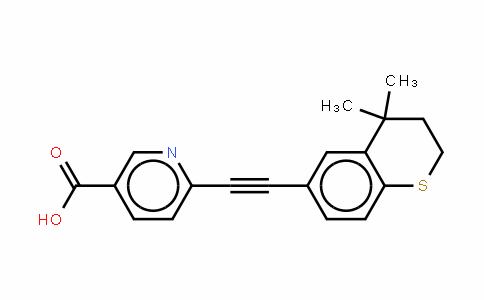 6-[2-(3,4-二氢-4,4-二甲基-2H-1-苯并噻喃-6-基)乙炔基]-3-吡啶甲酸