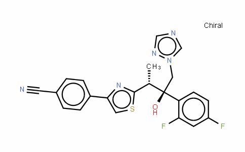 2H-吡唑并(3,4-c)(2,1)苯并硫氮杂卓-4(9H)-酮,2,9-二甲基-, O-(2-( 4-吗啉基)乙基)肟, 10,10-二氧化, (Z)-2-丁烯二酸酯 (1:1)