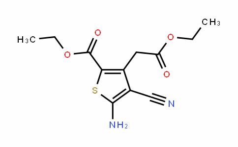 Ethyl5-aMino-4-cyano-3-(2-ethoxy-2-oxoethyl)thiophene-2-carboxylate