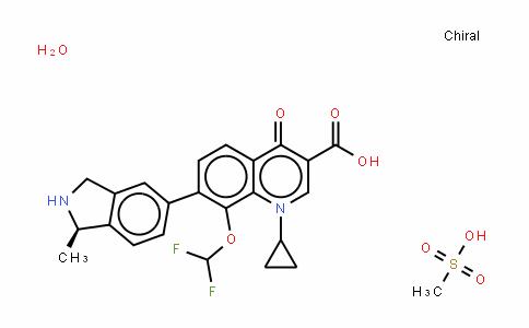 Garenoxacin Mesylate hydrate