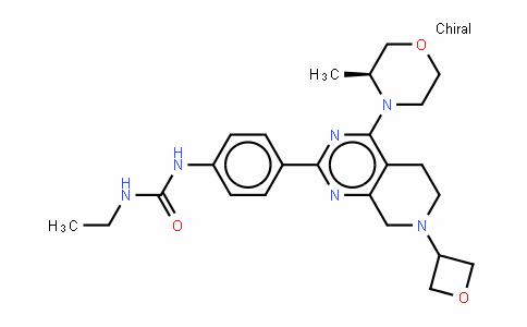 N-ETHYL-N'-[4-[5,6,7,8-四氢-4-[(3S)-3-甲基-4-吗啉基]-7-(3-氧杂环丁基)吡啶并[3,4-D]嘧啶-2-基]苯基]脲