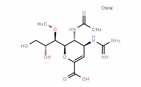 (4S,5R,6R)-5-乙酰氨基-4-胍基-6-((1R,2R)-2,3-二羟基-1-甲氧基丙基)-5,6-二氢-4H-吡喃-2-甲酸