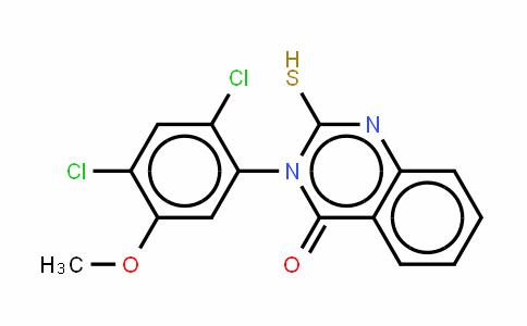 3-(2,4-二氯-5-甲氧基苯基)-2,3-二氢-2-硫代-4(1H)-喹唑啉酮