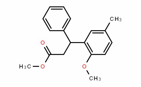 Methyl3-(2-Methoxy-5-Methylphenyl)-3-phenylpropionate