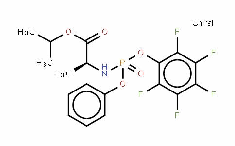 N-[(S)-(2,3,4,5,6-Pentafluorophenoxy)phenoxyphosphinyl]-L-alanine1-Methylethylester