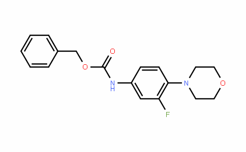 N-BENZYLOXYCARBONYL-3-FLUORO-4-MORPHOLINOANILINE