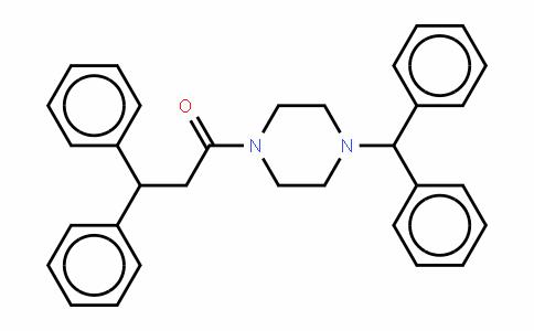 1-【4-(二苯甲基)-1-哌嗪基】-3,3-二苯基-1-丙酮