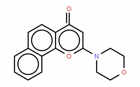 2-(4-吗啉基)-4H-萘并[1,2-B]吡喃-4-酮