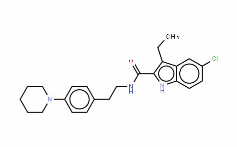 ORG275695-氯-3-乙基-N-[2-[4-(1-哌啶基)苯基]乙基-1H-吲哚-2-甲酰胺