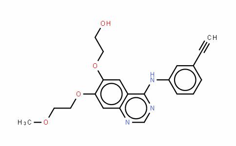 2-[[4-[(3-乙炔基苯基)氨基]-7-(2-甲氧基乙氧基)-6-喹唑啉基]氧]乙醇盐酸盐