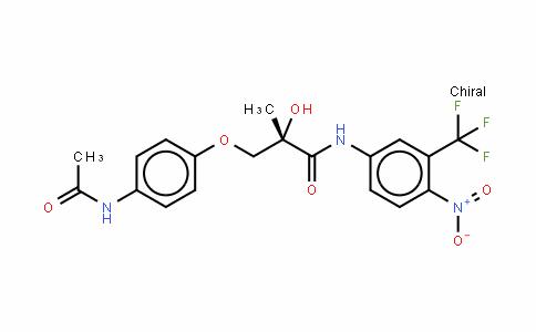N-[4-硝基-3-(三氟甲基)苯基]-(2S)-3-[4-(乙酰基氨基)苯氧基]-2-羟基-2-甲基丙酰胺