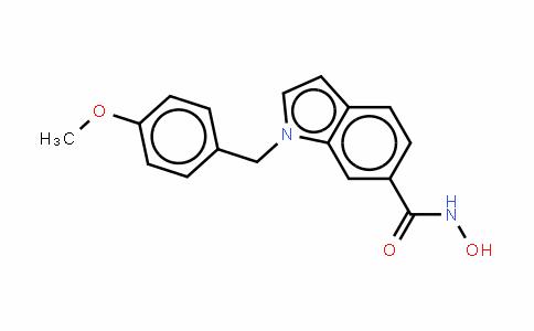 N-羟基-1-(4-甲氧基苄基)-1H-吲哚-6-甲酰胺