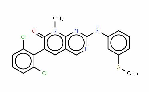 6-(2,6-二氯苯基)-8-甲基-2-[[3-(甲硫基)苯基]氨基]吡啶并[2,3-d]嘧啶-7(8H)-酮