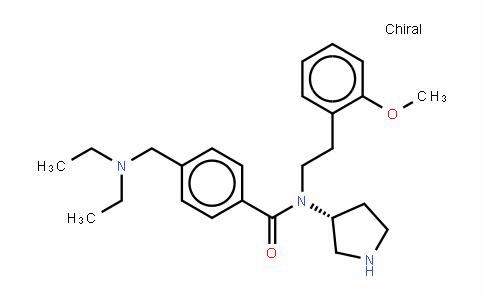 4-[(二乙基氨基)甲基]-N-[2-(2-甲氧基苯基)乙基]-N-(3R)-3-吡咯烷基苯甲酰胺