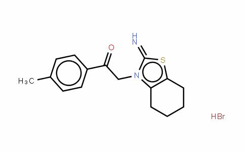 2-(2-亚氨基-4,5,6,7-四氢苯并噻唑-3-基)-1-P-苯甲基乙酮氢溴酸盐