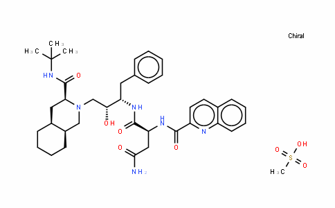 甲磺酸沙奎拉韦
